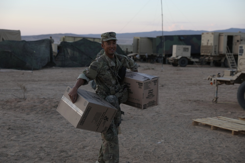 Oklahoma National Guard's light infantry are the first to attend NTC in 10+ years.