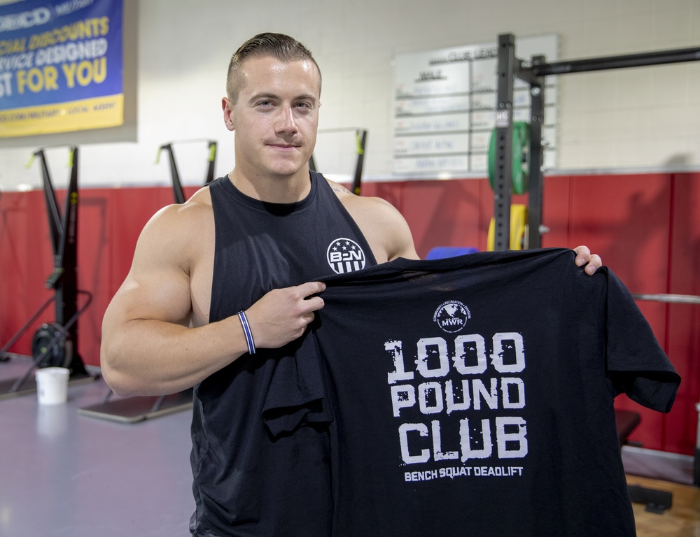 New York National Guard Soldier sets new weight lifting record