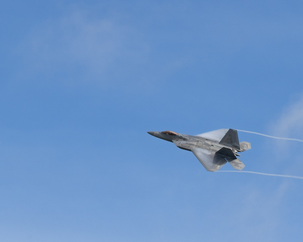 F-22 Raptors and F-15E Strike Eagles display dominance during Pacific Iron 2021
