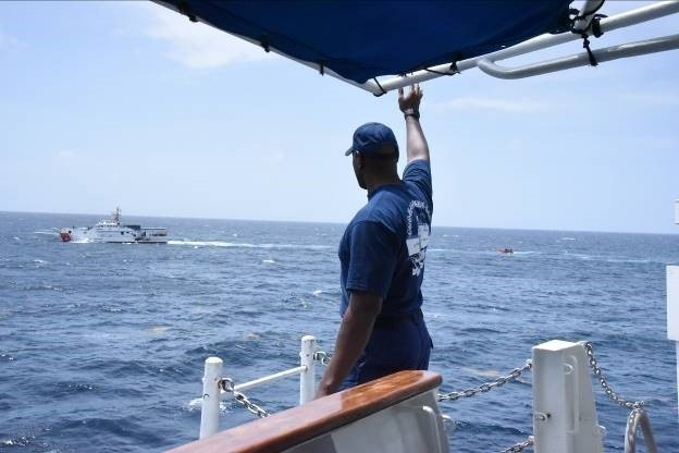 Coast Guard Harriet Lane crewmembers interdict $16 million worth of illicit drugs, return home following 72-day Caribbean Sea patrol