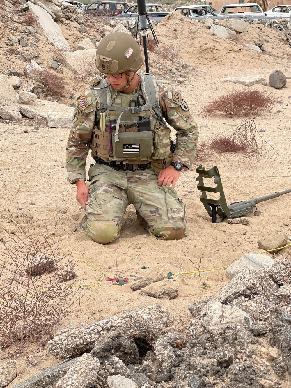 U.S. Army Explosive Ordnance Disposal Soldiers tackle critical missions around world