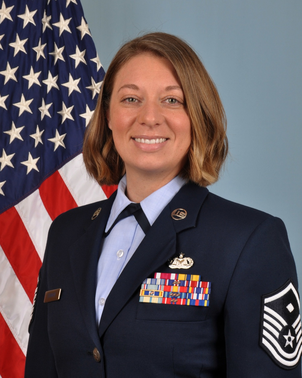 Wing welcomes first full-time first sergeant