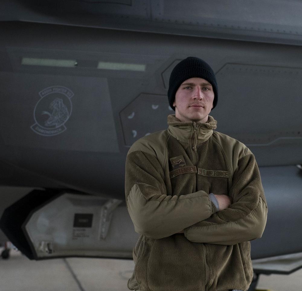Airman 1st Class Nathaniel Christensen
