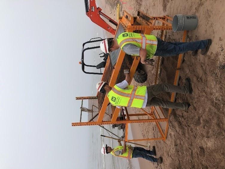 Debris Cleanup on Minnesota Point