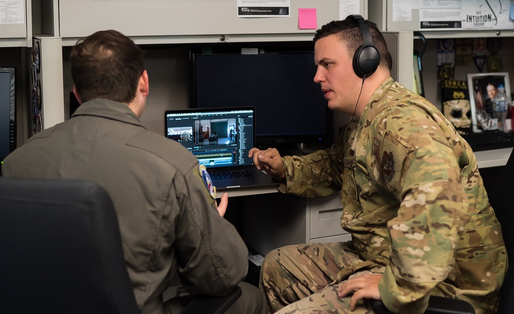4th Combat Camera Squadron Participates in Consolidation Training