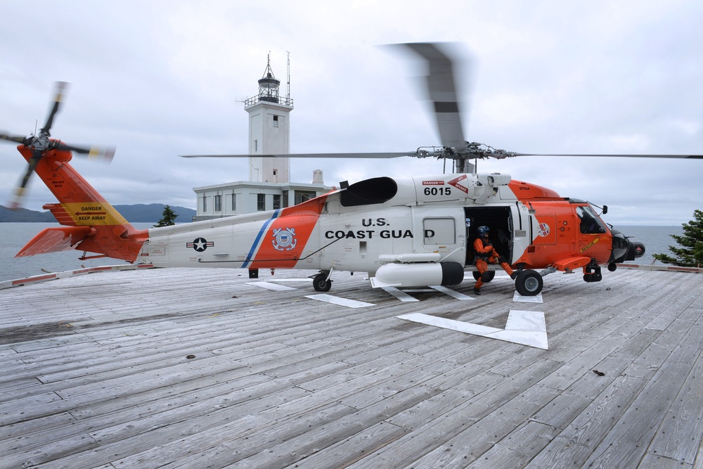 Remote Alaskan landing