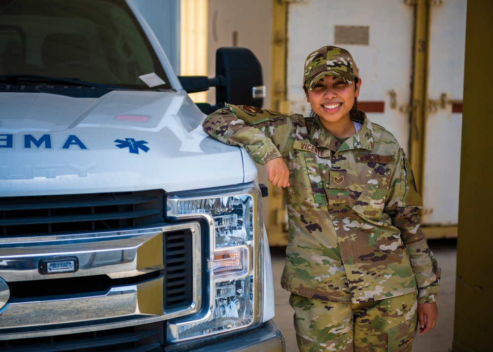 Airman overcomes series of challenges relying on superb resiliency