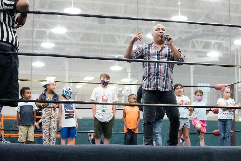 Summer slammed: Bliss FMWR wrestling event excites, celebrates culture