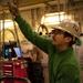 USS Carl Vinson Sailor Conducts Routine Maintenance