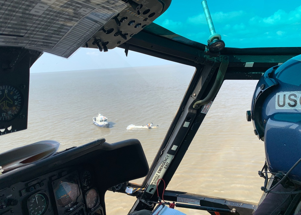 Coast Guard rescues 1 from down aircraft in Fourleague Bay