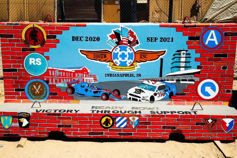 'Brickyard' mural cements deployment legacy