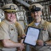 Promotion Ceremony Aboard USS Charleston (LCS 18)
