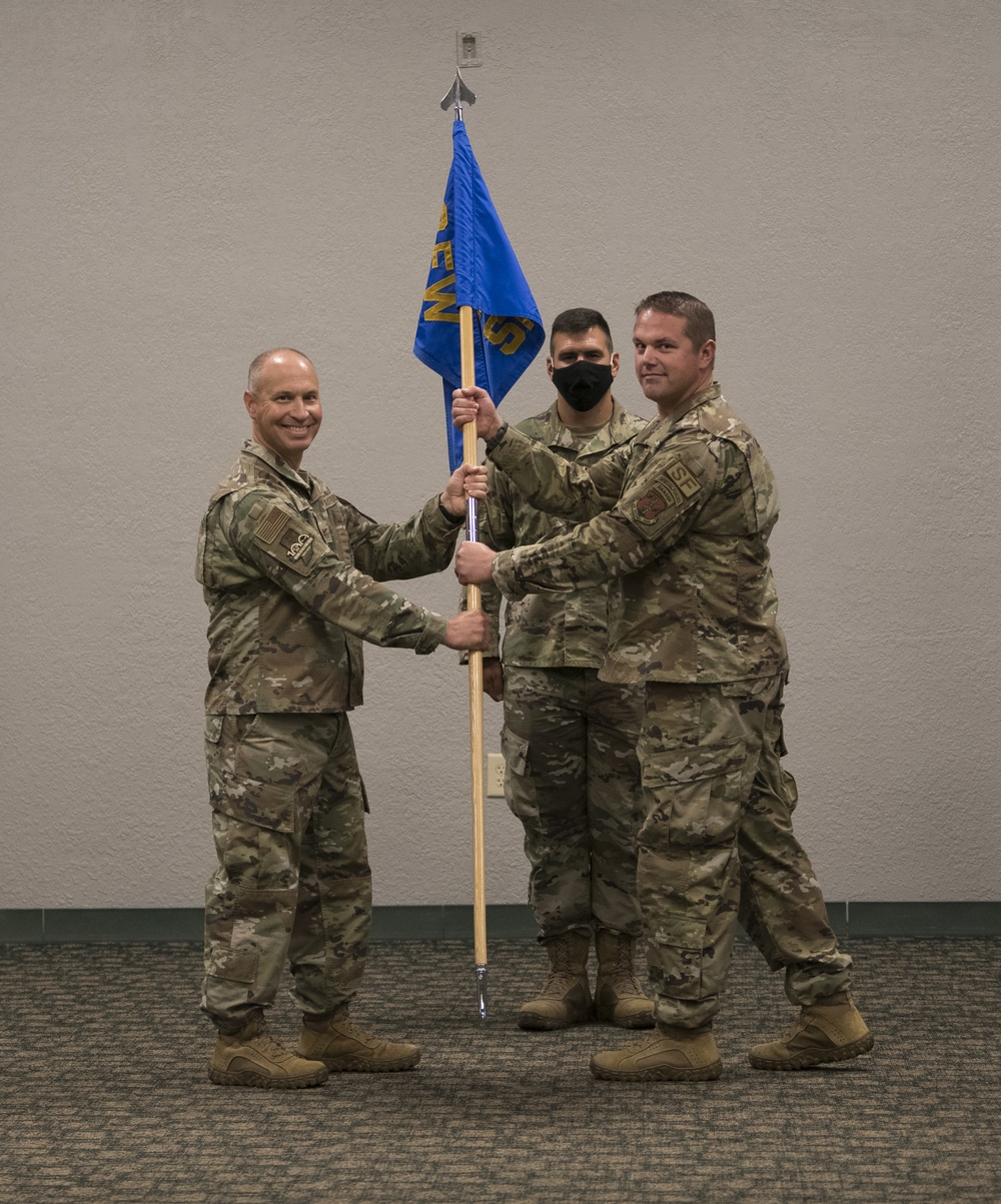 Grant assumes 122nd Security Forces Command