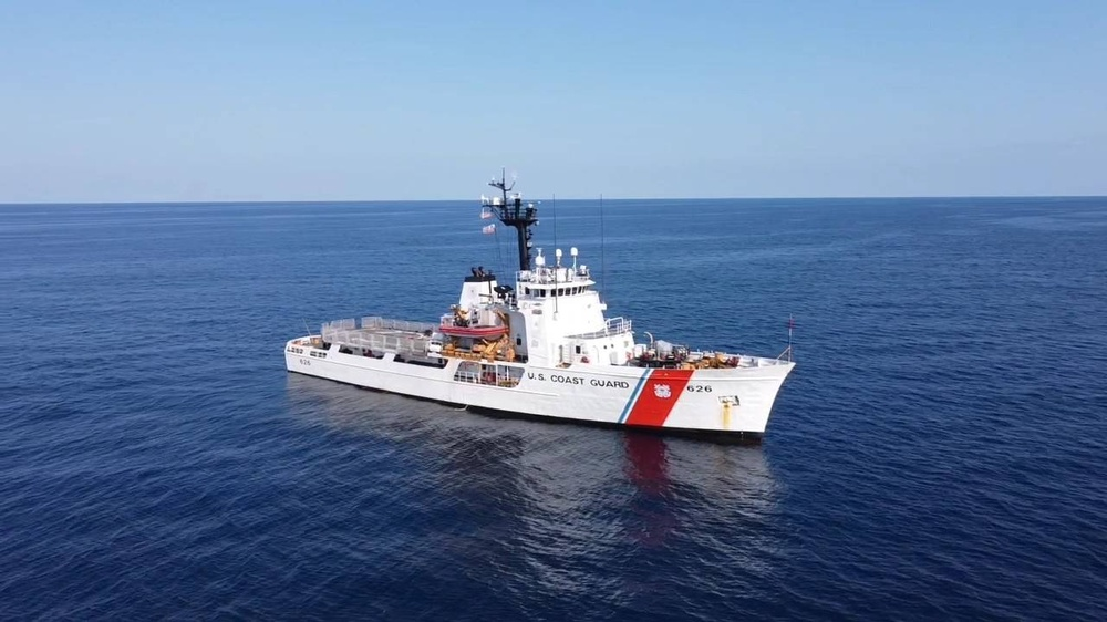 Coast Guard Cutter Dependable crewmembers return home following 29-day patrol