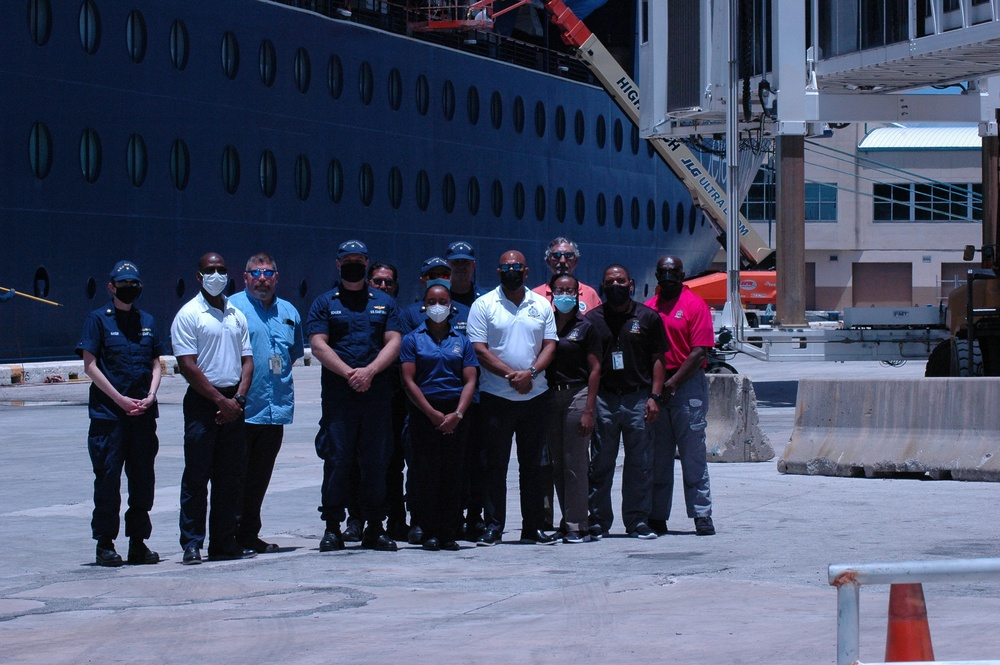 U.S. Coast Guard, Royal Bahamas Defense Force conduct international port security engagement
