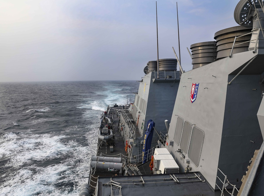 USS Benfold (DDG 65) Routine Operations