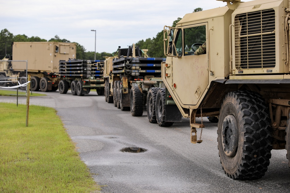 3rd Division Sustainment Brigade Soldiers Train for DCRF