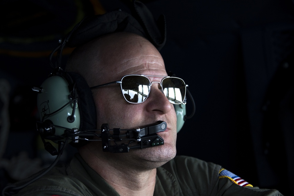 USCG Clearwater C-130 Crew Conducts Training