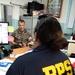 Task Force Koa Moana 21 speaks with local law enforcement about cross training opportunities