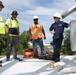 USCG Team Works on Aid to Navigation