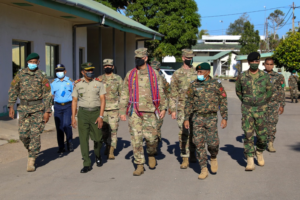 U.S. Army, Timor-Leste military kick off First Bilateral Exercise
