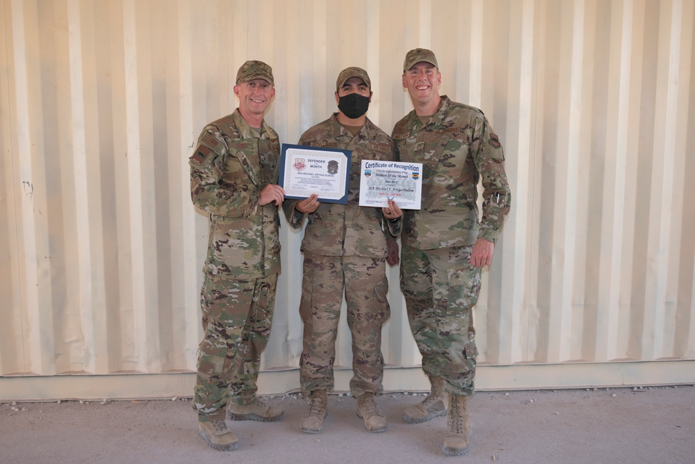 June Airmen of the Month Presentations