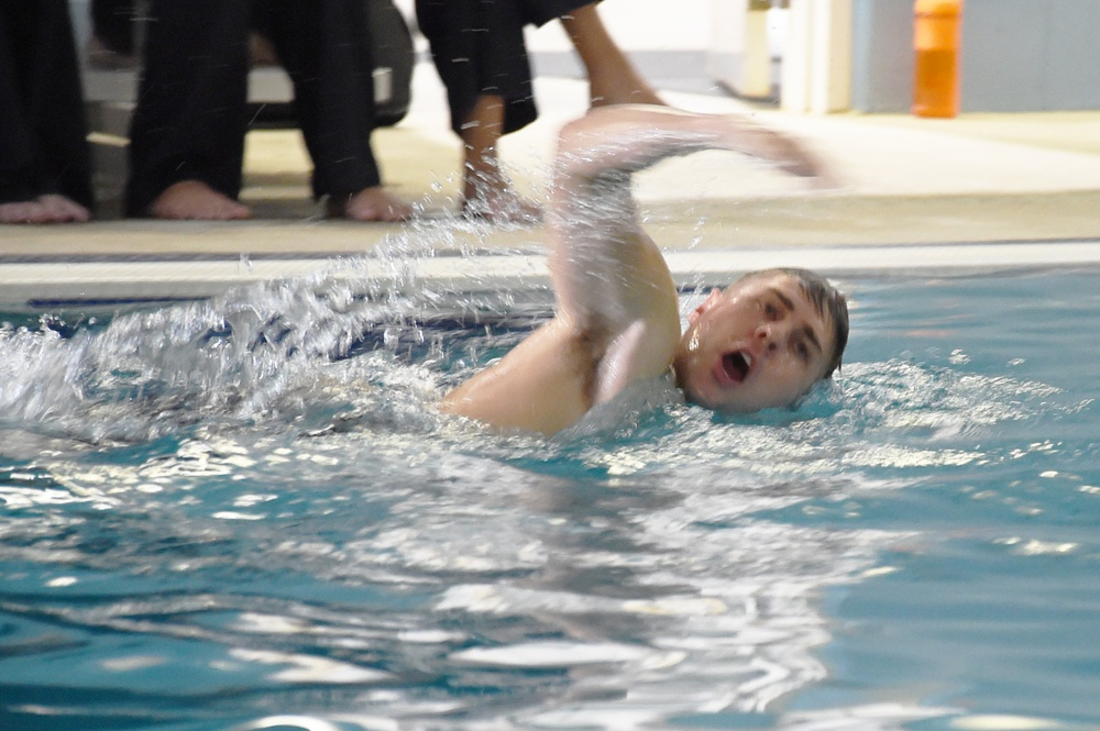 210727-N-JY604-0143 (July 27, 2021) July 27, 2021) ODS third-class swim qualification