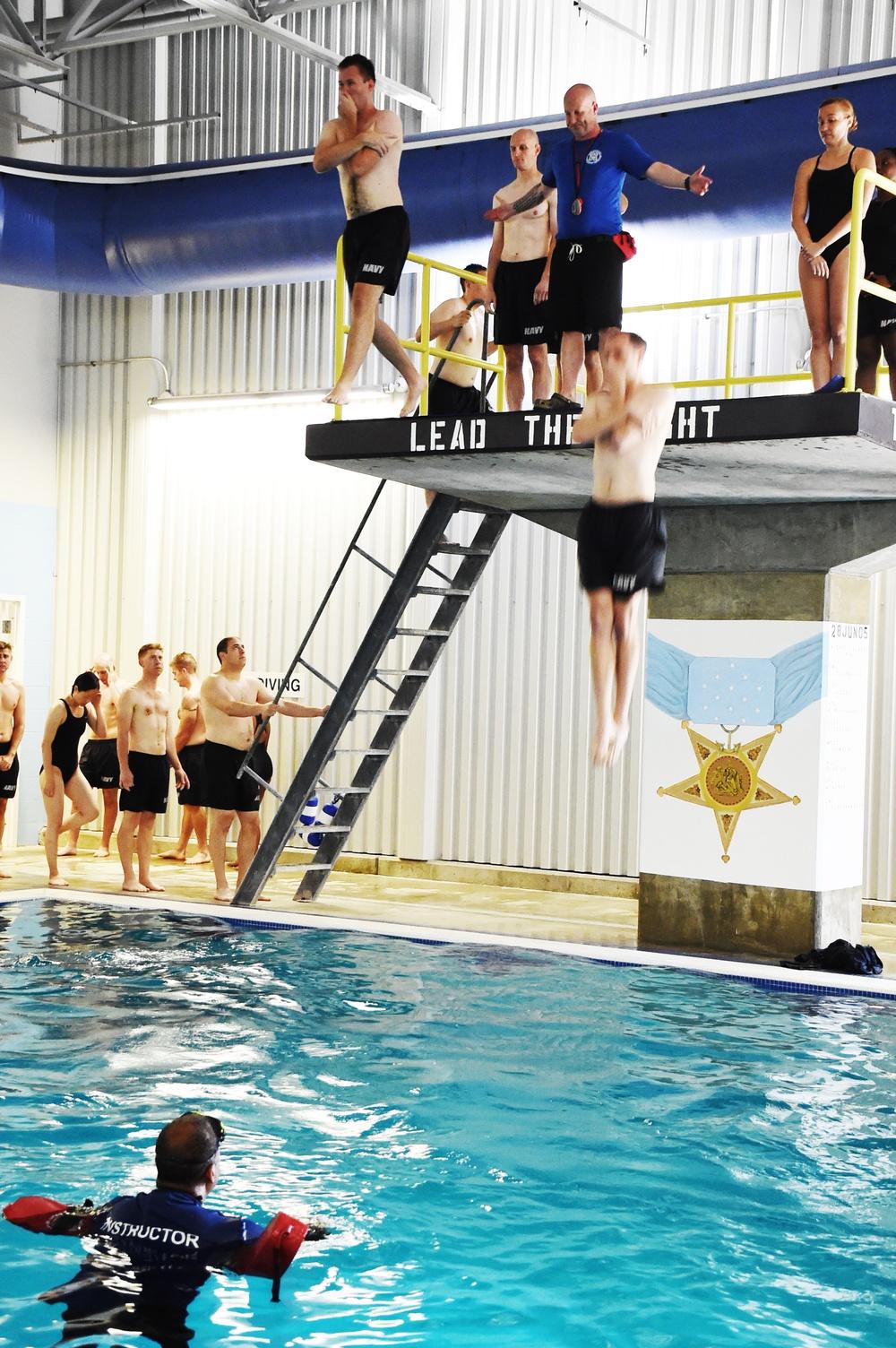 210727-N-JY604-0356 (July 27, 2021) ODS third-class swim qualification