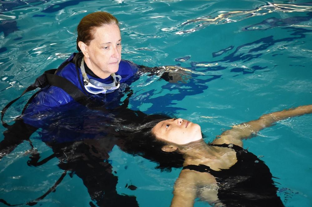 210727-N-JY604-0497 (July 27, 2021) ODS third-class swim qualification