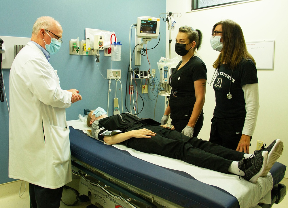 Staff at KACH perform exercise to test emergency operations plan
