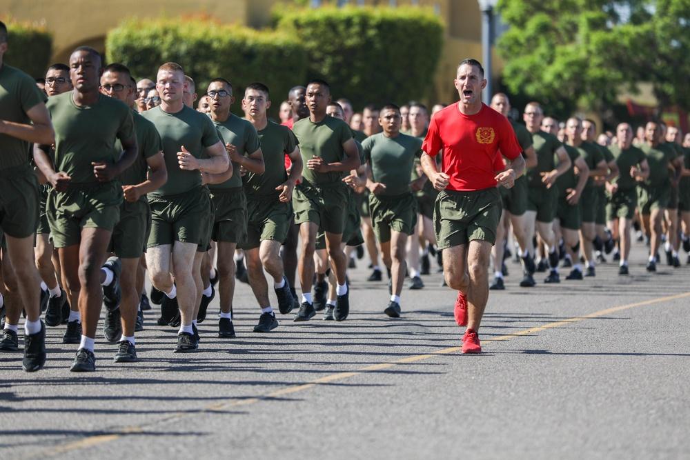 Charlie Company Motivational Run