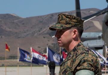 VMM-164 Change of Command