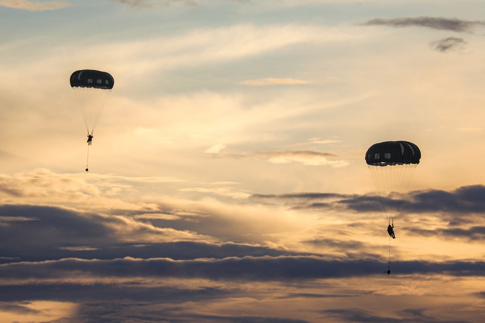 Exercise Forager 21 Airborne Operations