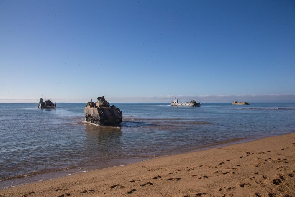 Multinational Amphibious Landing during Exercise Talisman Sabre 21