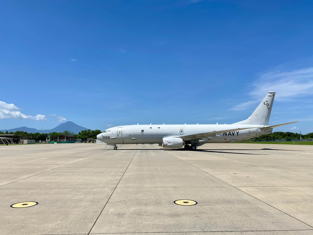 P-8A Poseidon Aircraft Waits in Standby for a Potential Ready Launch