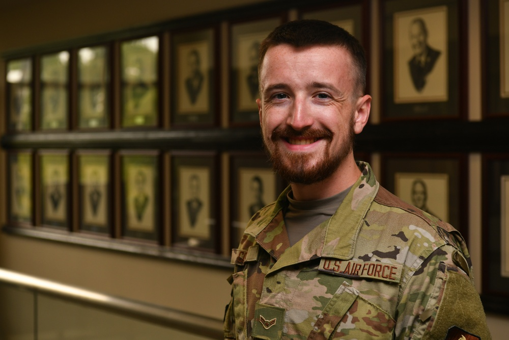 Air University Airman overcomes barriers to express his faith as a Norse Pagan
