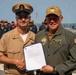 USS Arlington pins new master chief and senior chief