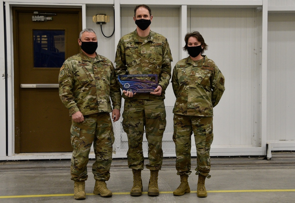 ANG's Outstanding NCO of the Year: MSgt Tyler Weir