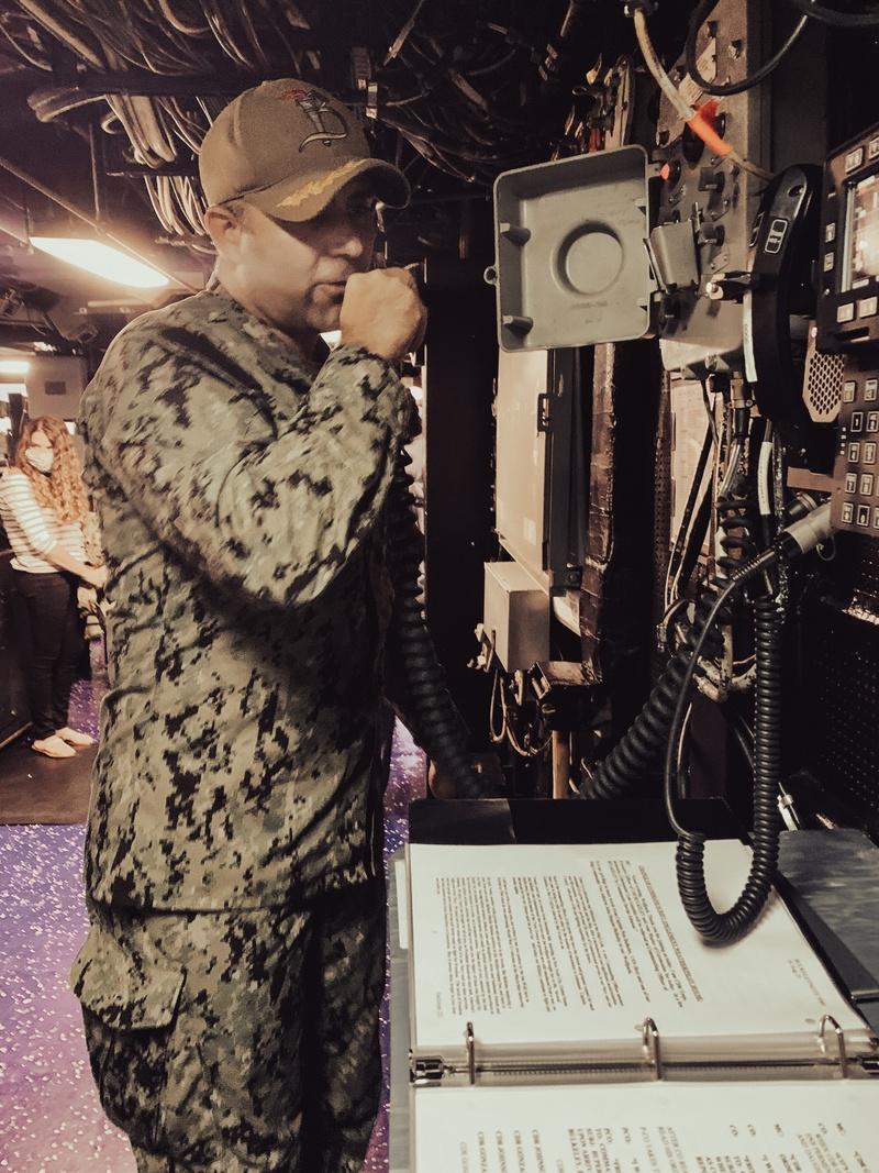 USS Bulkeley Holds Change of Command