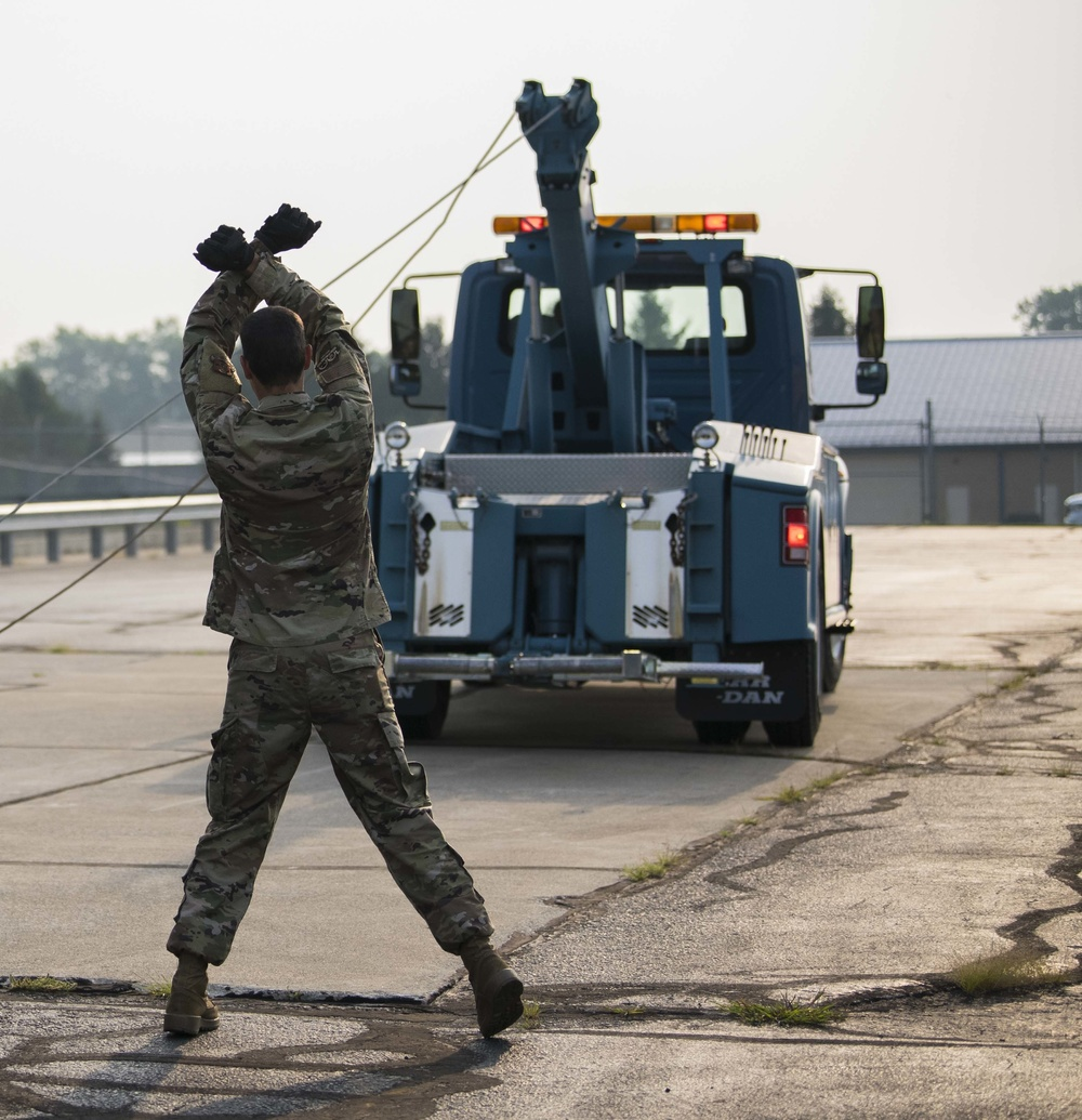 122nd Fighter Wing Ground Transportation training