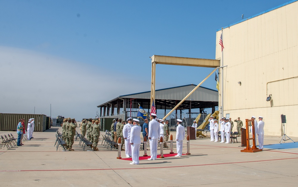 MESG 1 hold a Retirement Ceremony in honor of Chief Operations Specialist Alex Velazquez onboard NOLF Imperial Beach
