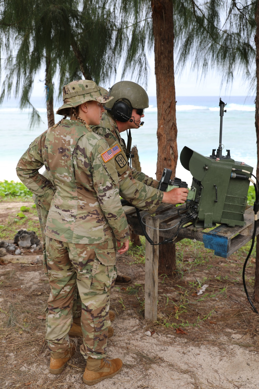 1-174th Takes Part in Exercise Forager 21