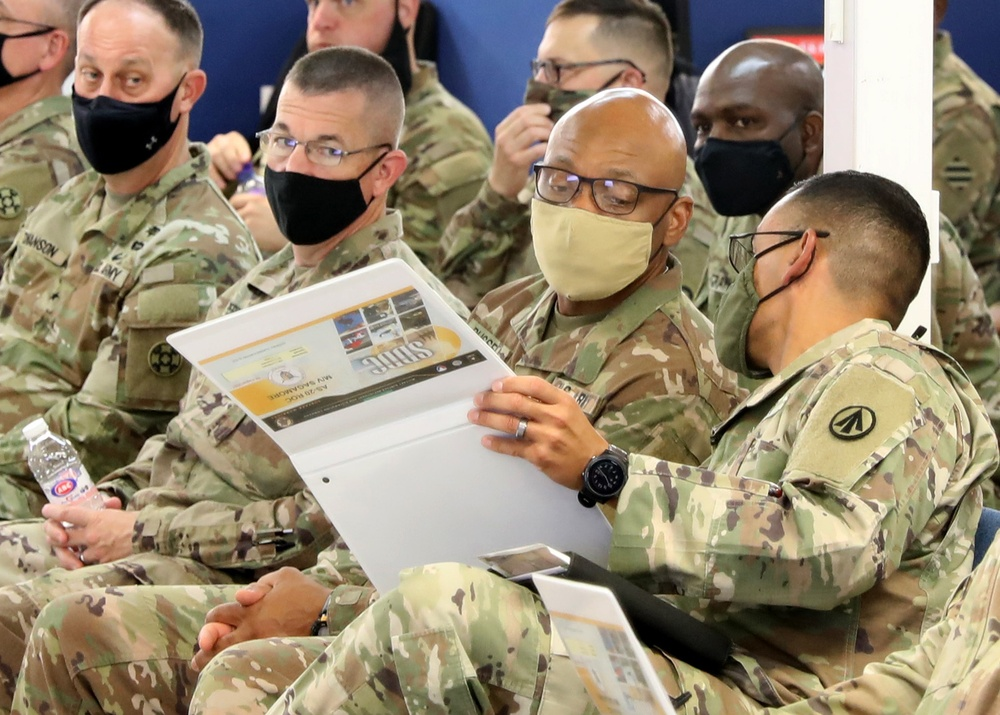 1st TSC CG receives vessel operations briefing at Port Shuaiba, Kuwait