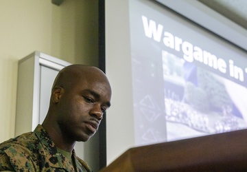 SNCOs practice critical planning skills in littoral war game