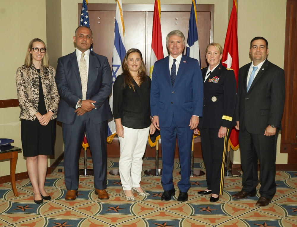 Texas, Egypt, Israel commemorate 40 years of peace