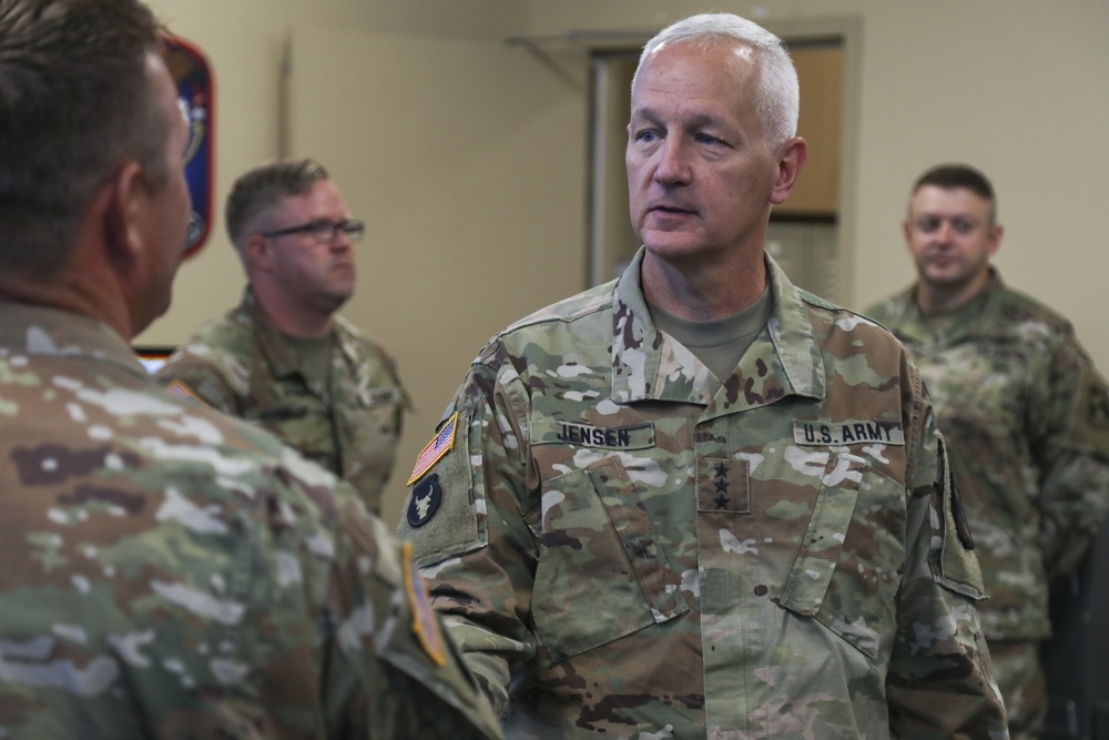 Army National Guard director visits 100th Missile Defense Brigade