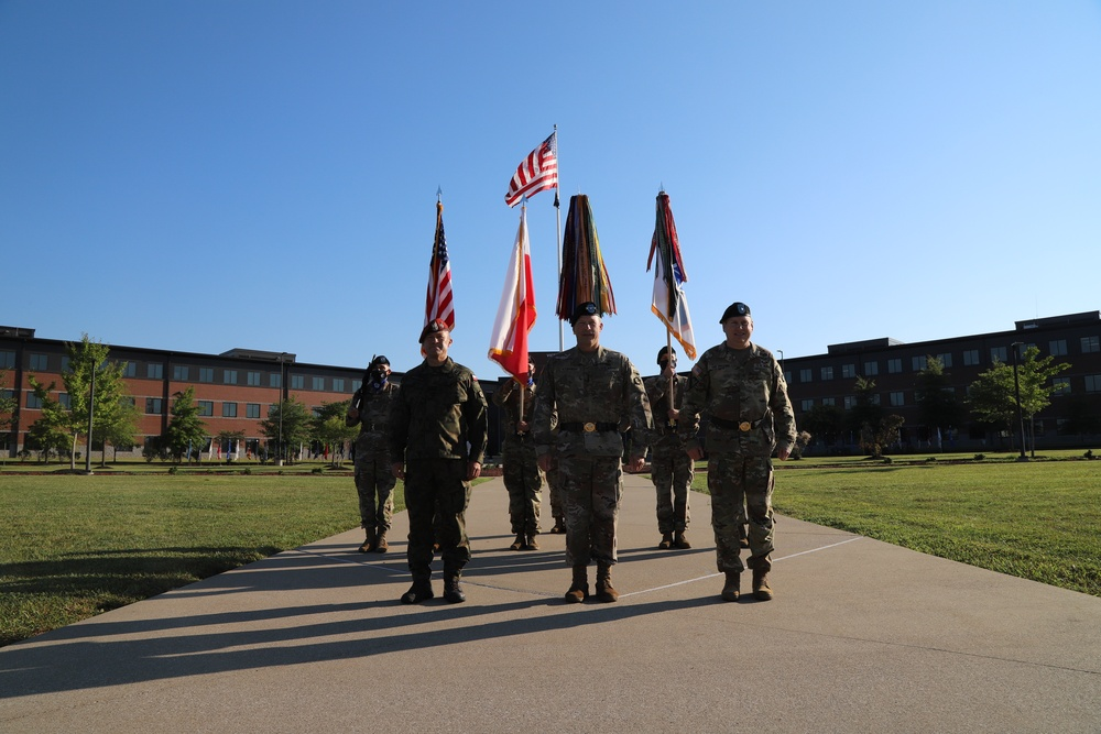 V Corps Welcoming Ceremony
