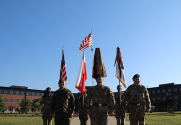 V Corps Strengthens Bond Between U.S. and Poland during Welcome Ceremony