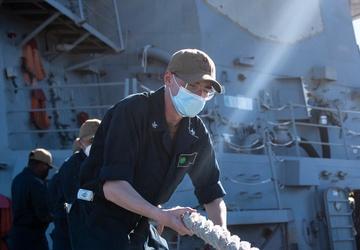 USS O'Kane (DDG 77) Goes Underway