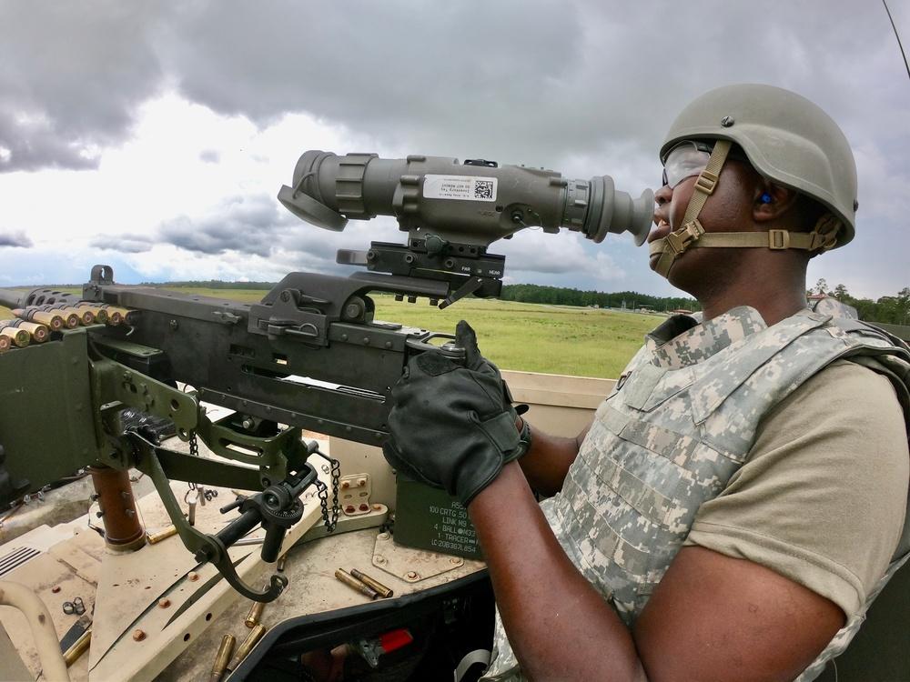 Scanning for targets